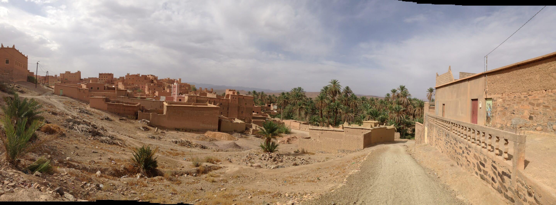 Village berbère de mon épouse dans le sud du Maroc : Nkob !