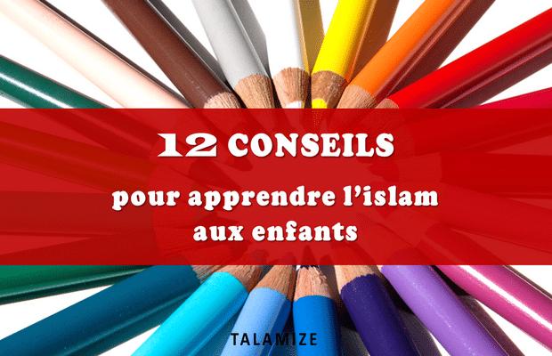 apprendre l'islam aux enfants