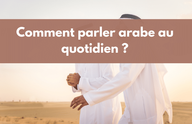 parler arabe