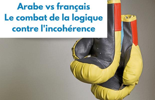 arabe vs français