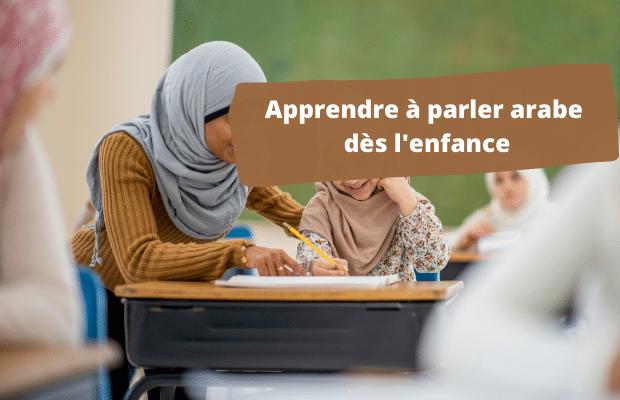 apprendre a parler arabe
