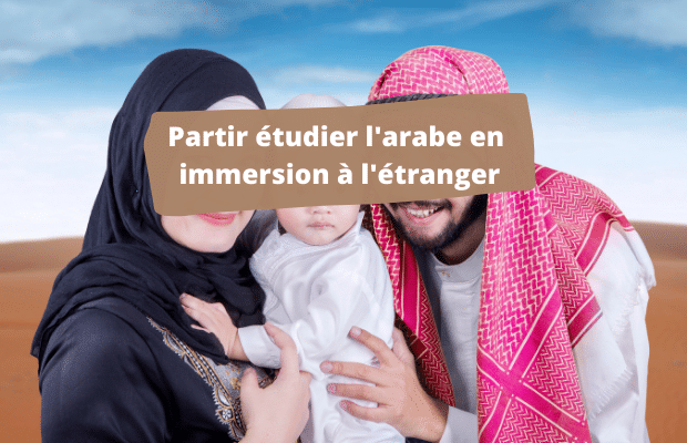 apprendre l'arabe en immersion